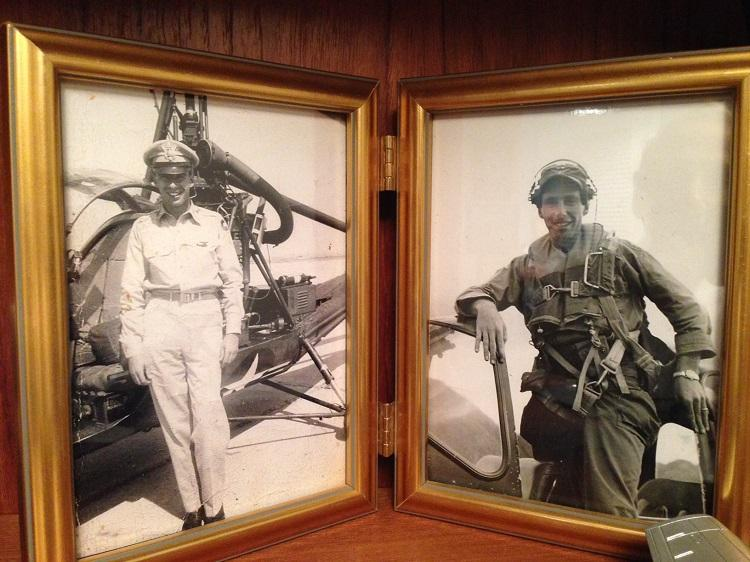 Sidney served in three wars. He toured Europe and Japan in World War II, flew helicopters in Korea, and fought in Vietnam.