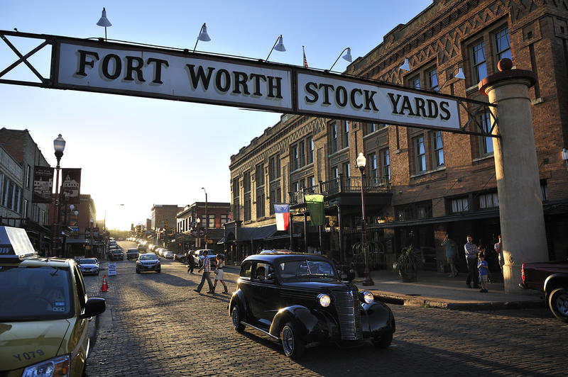 The Fort Worth Stockyards is considered one of the country's most endangered historic places.