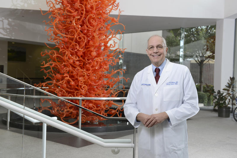 Dr. Jim Willson is the director of the Harold C. Simmons Comprehensive Cancer Center.