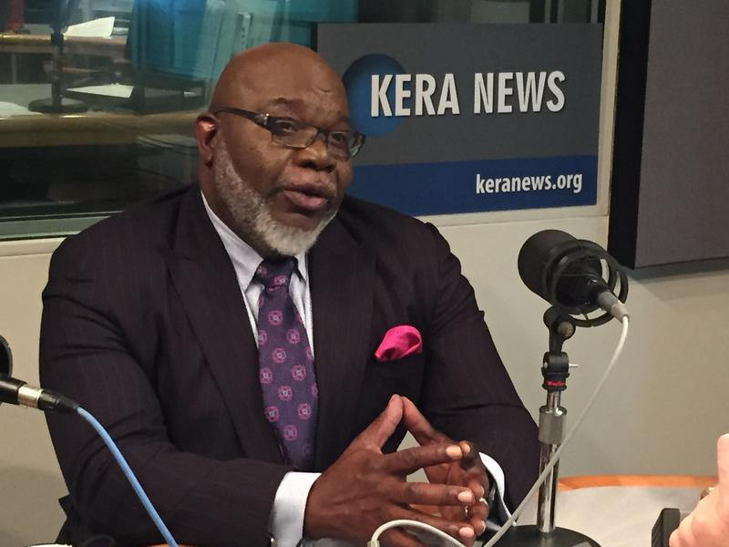 T.D. Jakes is the bishop of Potter's House. He'll be debuting a new talk show on Aug. 17 on WFAA-TV.