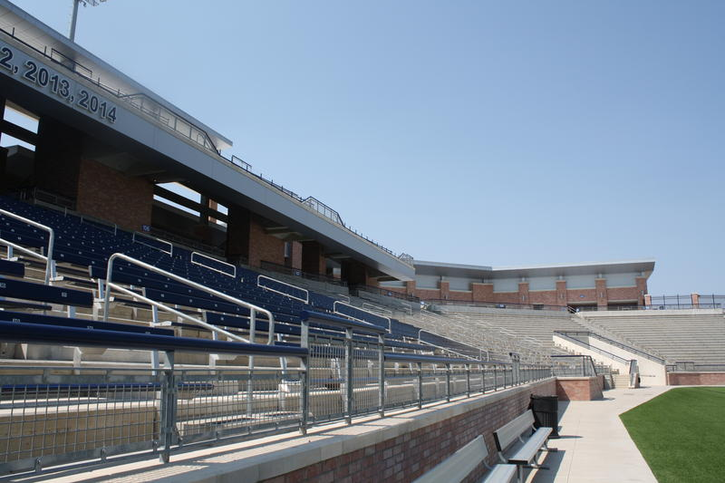 Allen Eagle Stadium was built to seat 18,000 people.