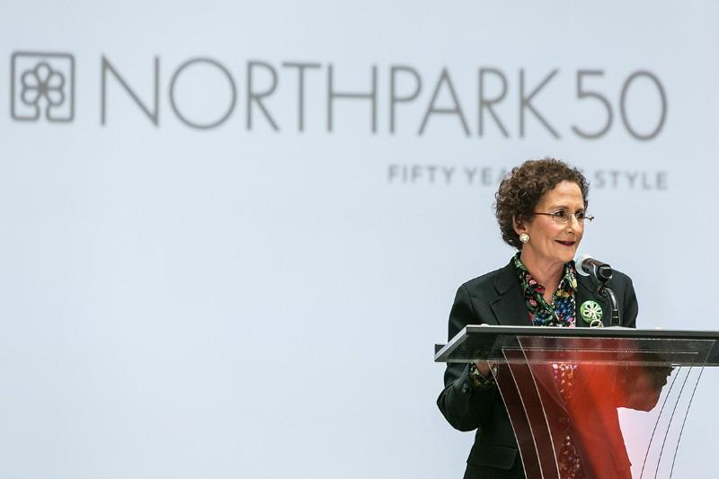 Raymond Nasher sold his stake of NorthPark Center to his daughter, Nancy, in 1995.