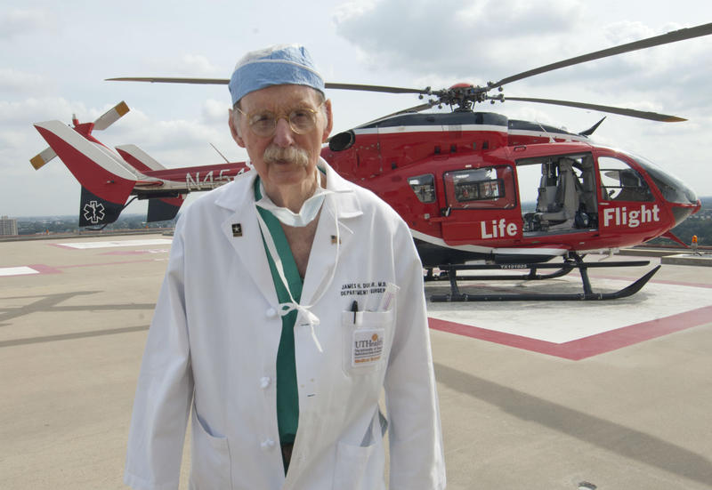 """Dr. James """"Red"""" Duke, a trauma surgeon who attended to Texas Gov. John Connally on the day of the John F. Kennedy assassination, has died."""