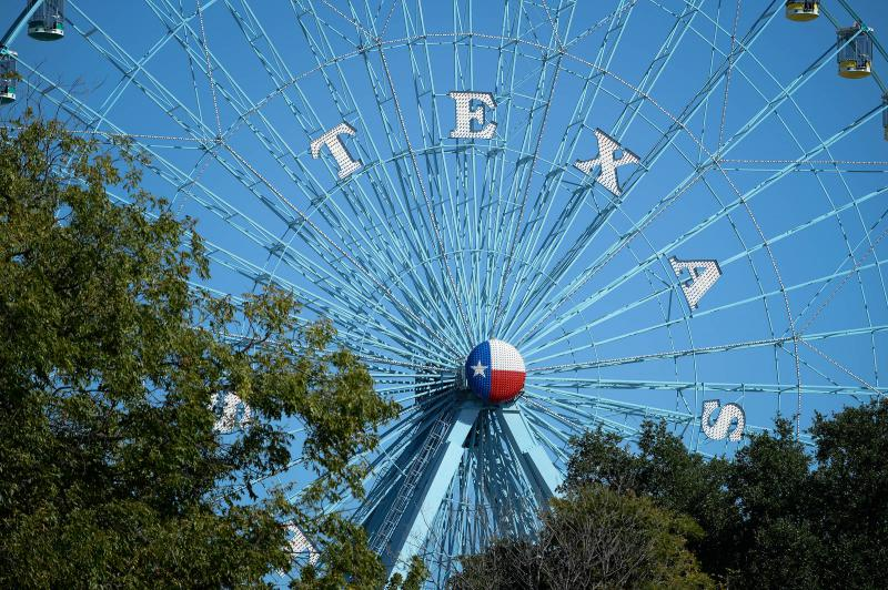 The Texas Star ferris wheel.