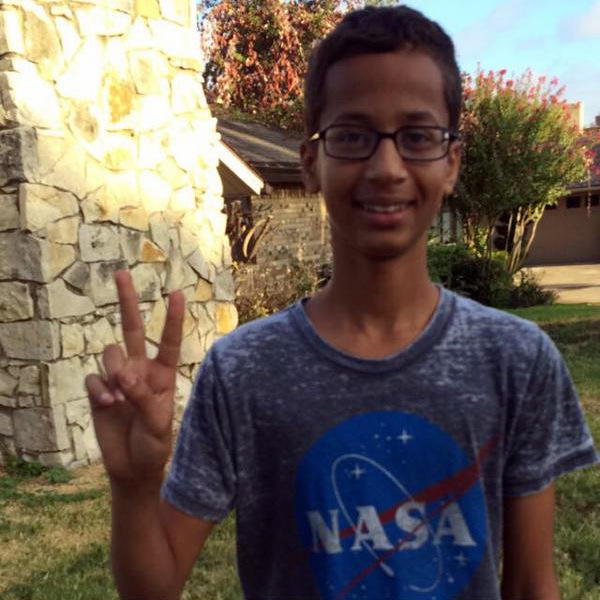 Ahmed Mohamed will be at the White House today.