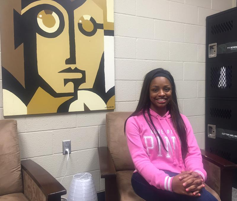Prosper High School student Shaznay Hardeman talks openly about her struggle with depression and anxiety. She hopes to encourage other students to talk to someone they trust and seek help.