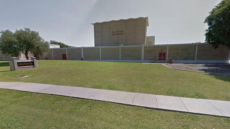 MacArthur High School in Irving.