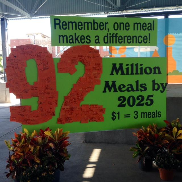 From 62 million to 92 million meals a year by 2025.