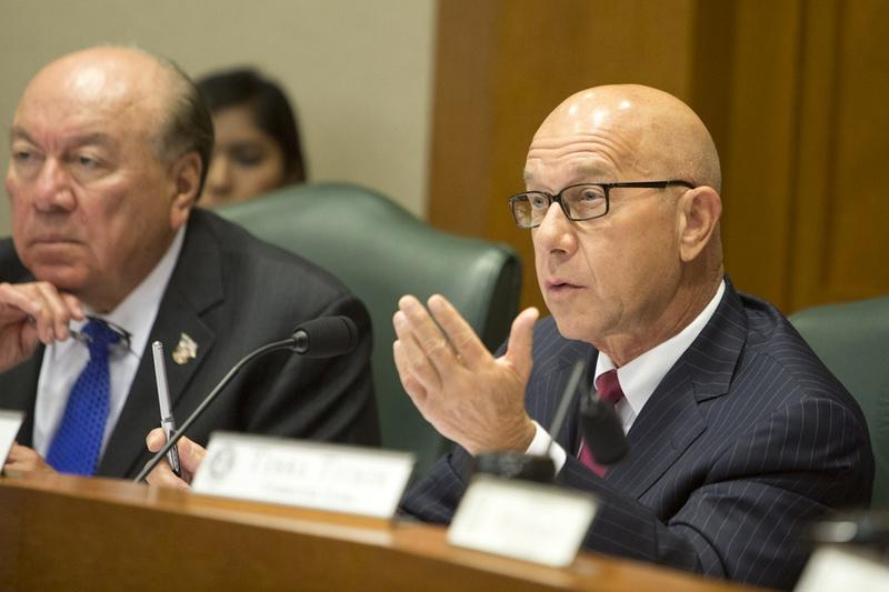 State Sen. John Whitmire, D-Houston, during a Sept. 22 Senate Criminal Justice Committee hearing.