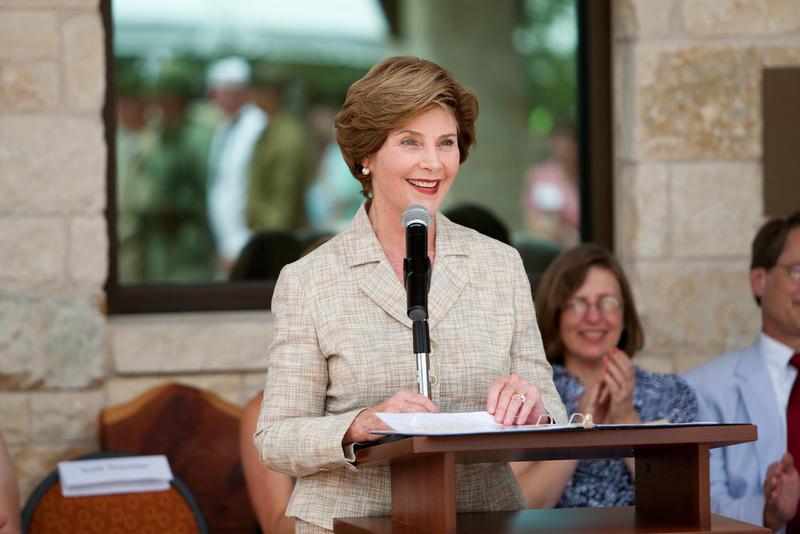 Laura Bush in 2009.