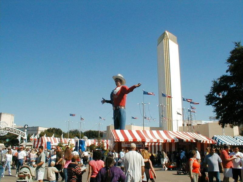 Big Tex at the fair.