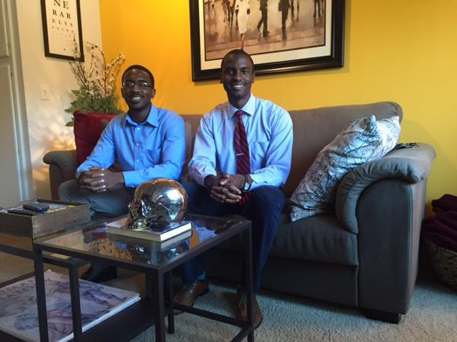 Jeffrey Okonye and Oviea Akpotaire are fourth-year medical students at UT Southwestern.