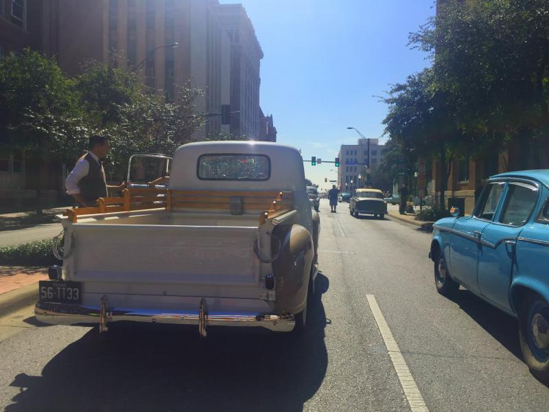 "Dealey Plaza is the set for ""11/22/63,"" a miniseries."