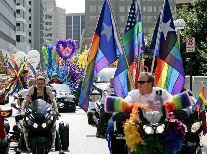 Thousands lined the streets of Downtown Fort Worth for Tarrant County Pride.