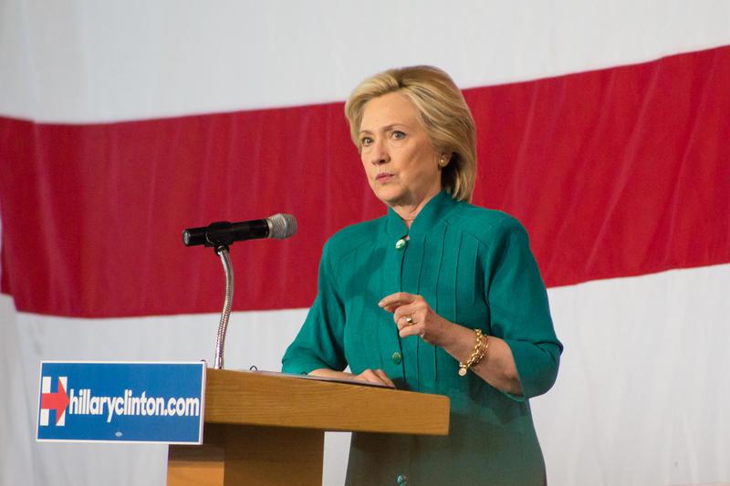 A UT/Texas Tribune poll last week put Clinton 30 points ahead of second-place Democrat Bernie Sanders.