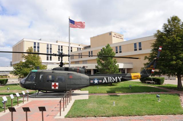 Darnall Hospital at Fort Hood.