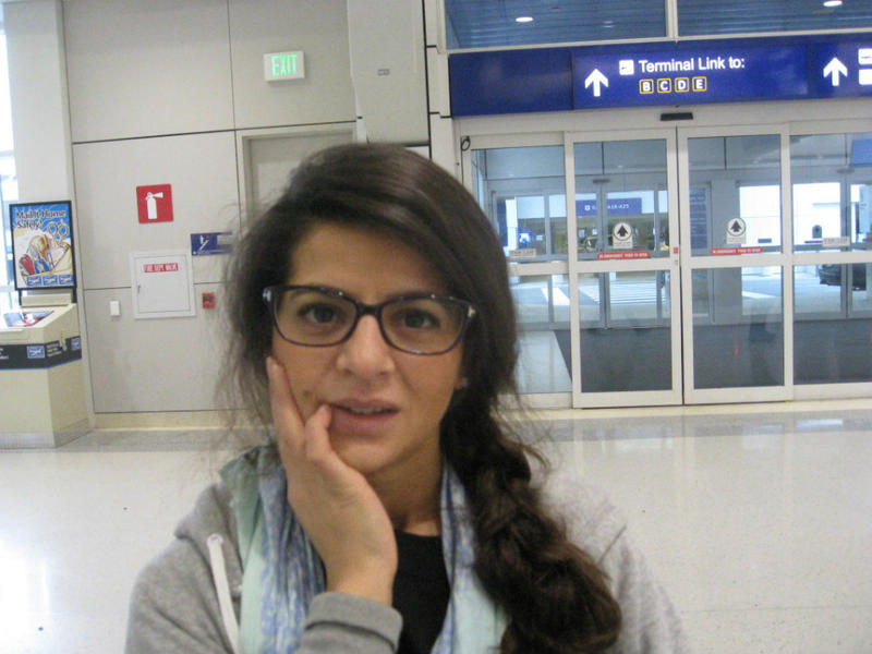 Sihem Bouhallouf was in Dallas, home-base of her employer, before heading home Saturday to her home and family in a Paris suburb. The attack was shocking, she said,  her family is safe, and she welcomed the international condemnation of the terrorists.