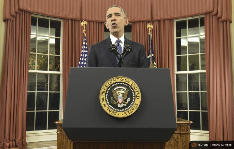 President Obama spoke Sunday night about counter-terrorism and the United States' fight against the Islamic State.