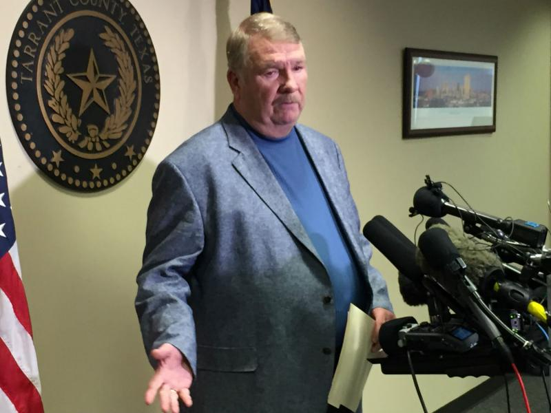 Tarrant County Sheriff Dee Anderson talked with reporters Tuesday morning about the capture of Ethan Couch in Mexico.