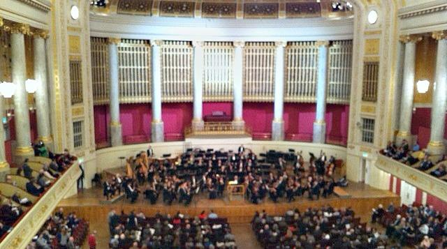 The Dallas Symphony Orchestra during its last European tour in 2013. This was in Vienna