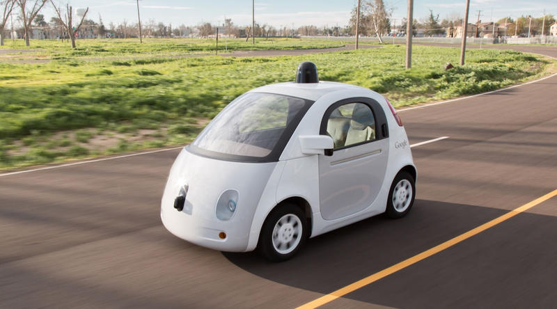 Austin is the only place where Google is testing the self-driving cars outside California.
