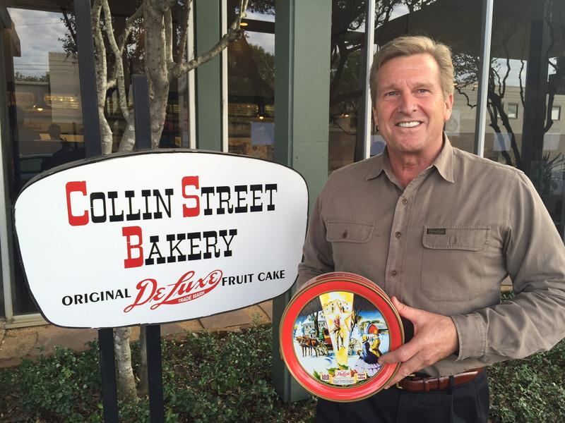 Hayden Crawford, a partner at Collin Street Bakery, which was founded in 1896.