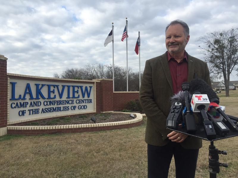 Rick DuBose is superintendent for the North Texas District of the Assemblies of God church, which runs the Lakeview Camp. He says seeing the kids smile has made the decision to temporarily house them worth it.