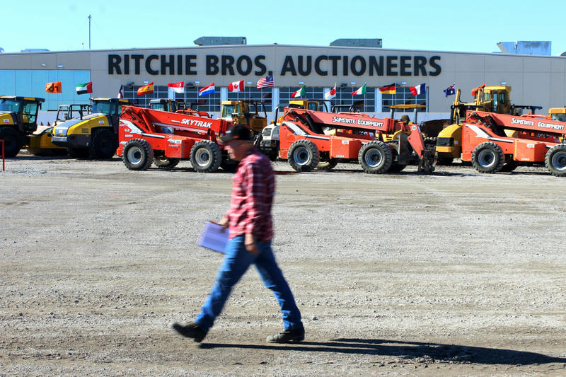 Ritchie Bros. Auctioneers is in Lake Worth.