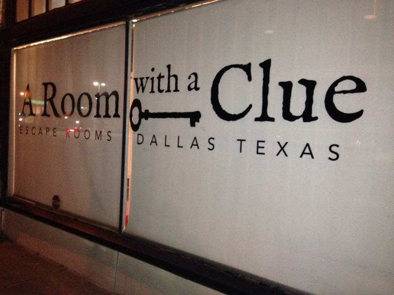A Room With A Clue is located on Main Street in Dallas' Deep Ellum.