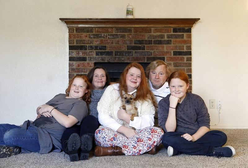 The Rosenheim Family just rented a 3 bedroom, 2 bathroom apartment in North Richland Hills. They'd been living in extended stay hotels for the better part of three years.