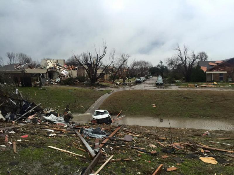 More than 1,000 homes were damaged from this weekend's tornadoes.