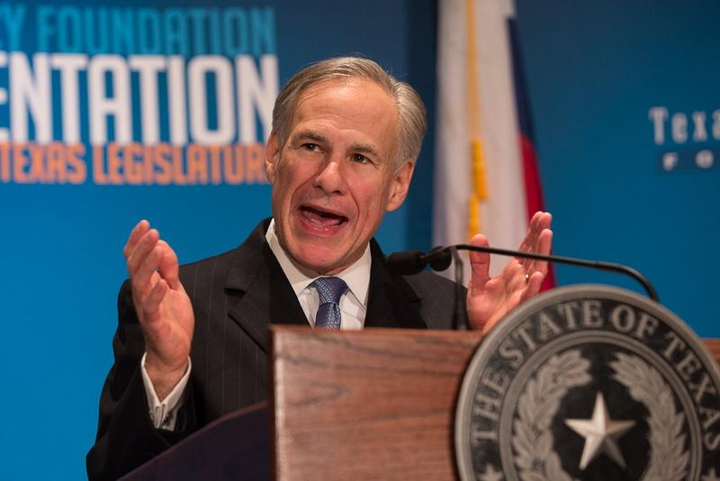 Texas Gov. Greg Abbott gave the closing keynote at the 2016 Texas Public Policy Foundation Policy Orientation Friday.