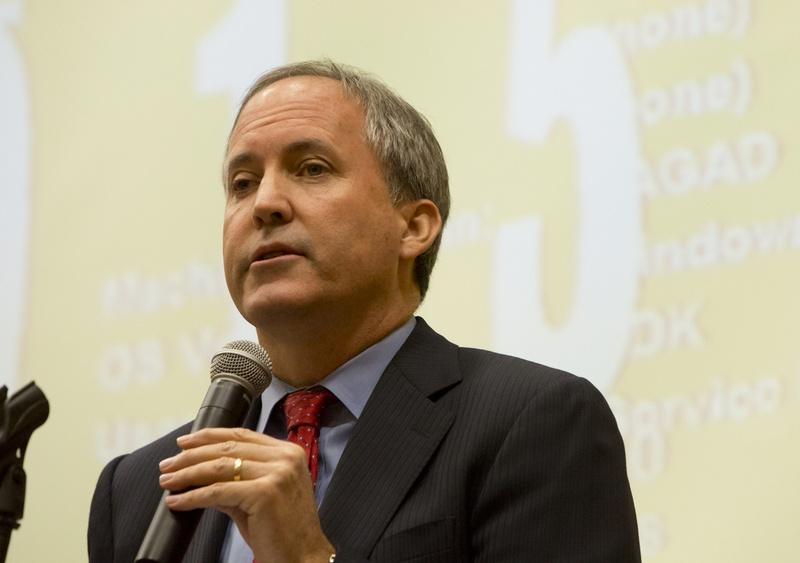 Texas Attorney General Ken Paxton spoke at the 2015 Open Government Conference in San Marcos in December.