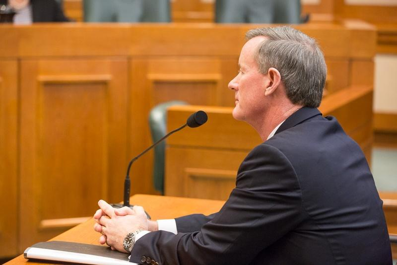 The Texas House Higher Education Committee discussed efforts to grow educational programs with University of Texas System Chancellor Bill McRaven on Jan. 20.