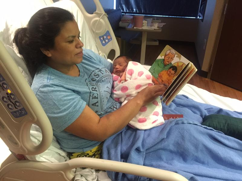 "Friends of the Dallas Public Library, the Dallas Public Library and local children's authors have teamed up with Parkland hospital on a literacy campaign called ""Books for Dallas Babies."""