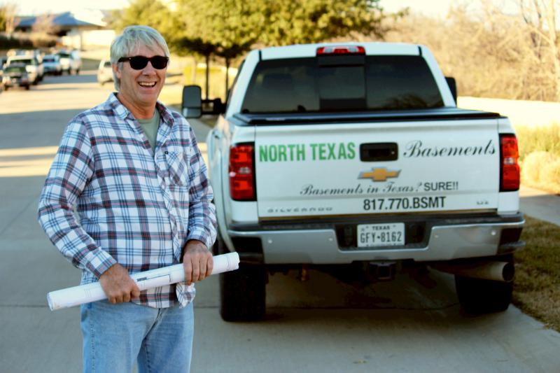 Tom Werling builds basements in the metroplex.