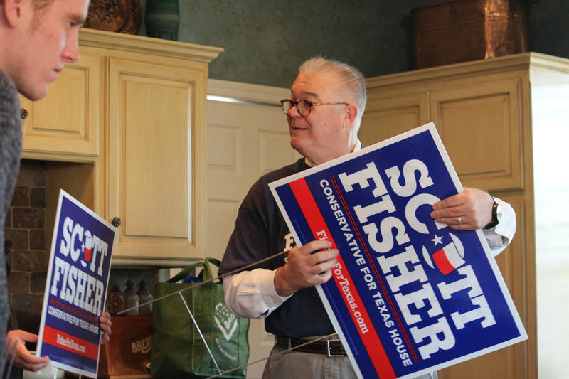 Conservative pastor Scott Fisher is running to unseat Jonathan Stickland in House District 92, which includes Hurst, Euless and Bedford.