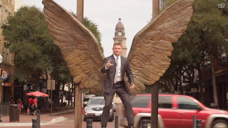 "Attorney Bryan Wilson — the ""Texas Law Hawk""."