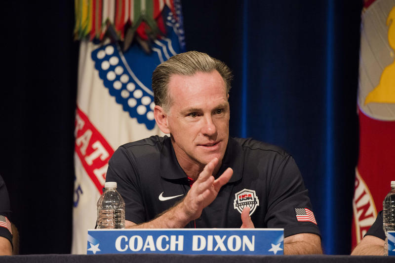 Jamie Dixon was coach of the Pittsburgh Panthers when he spoke at a sports leadership seminar hosted by the chairman of the Joint Chiefs of Staff two years ago.