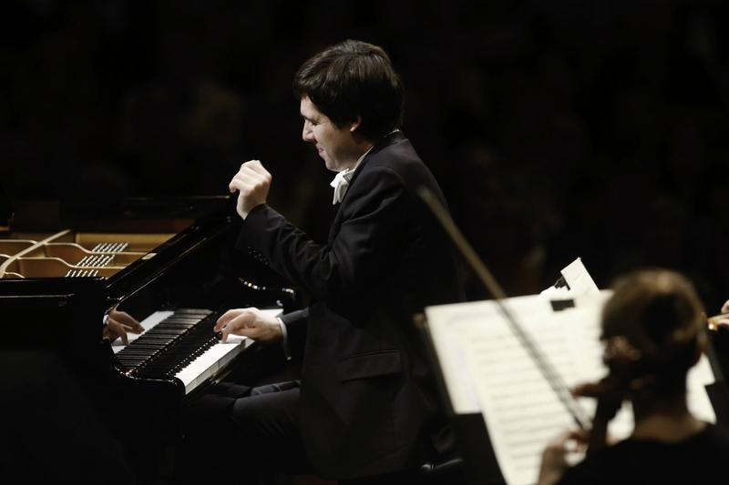 Cliburn Competition winner Yadym Kholodenko played with the Fort Worth Symphony Orchestra in 2013.