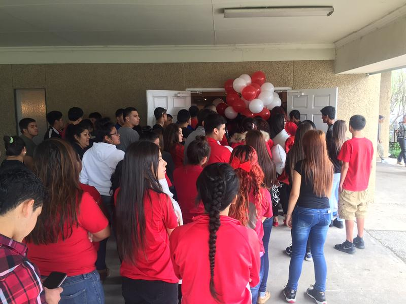 Friends and family of Jose Cruz gathered for his funeral in Dallas Thursday afternoon. They were encouraged to wear red.