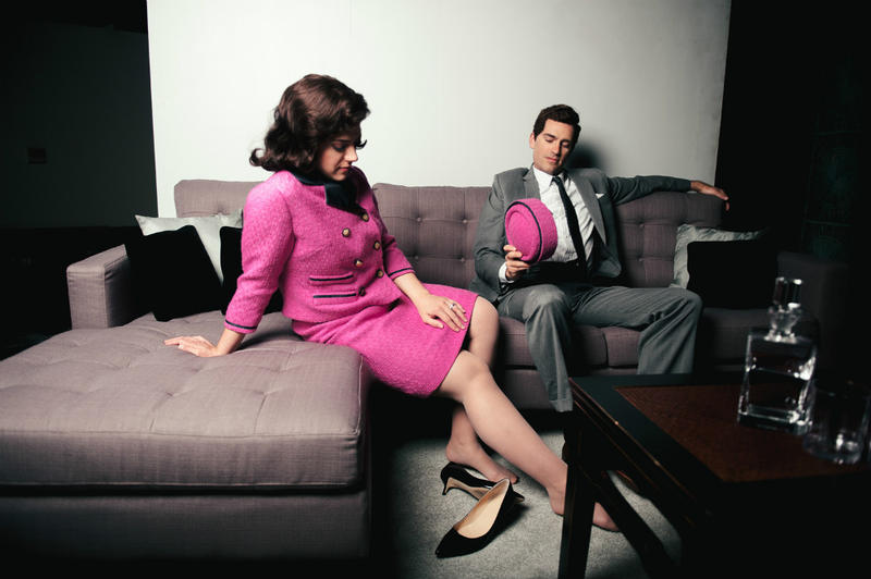 Mezzo-soprano Daniela Mack and baritone Matthew Worth sing the roles of Jacqueline Kennedy and Jack Kennedy in Fort Worth Opera's new JFK, by librettist Royce Vavrek and composer David T. Little