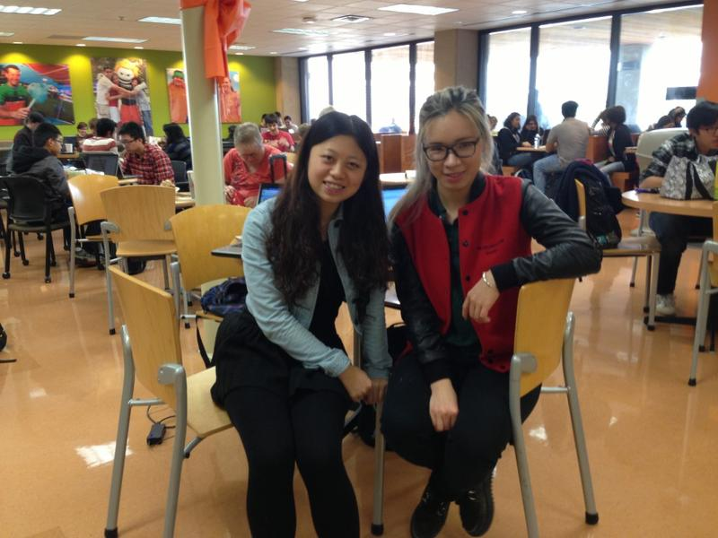 Lu Han and Jing Zhao are both from China now studying at the University of Texas at Dallas.