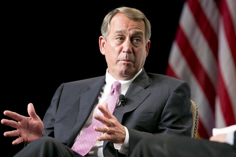 Former U.S. House Speaker John Boehner in San Antonio in 2014.