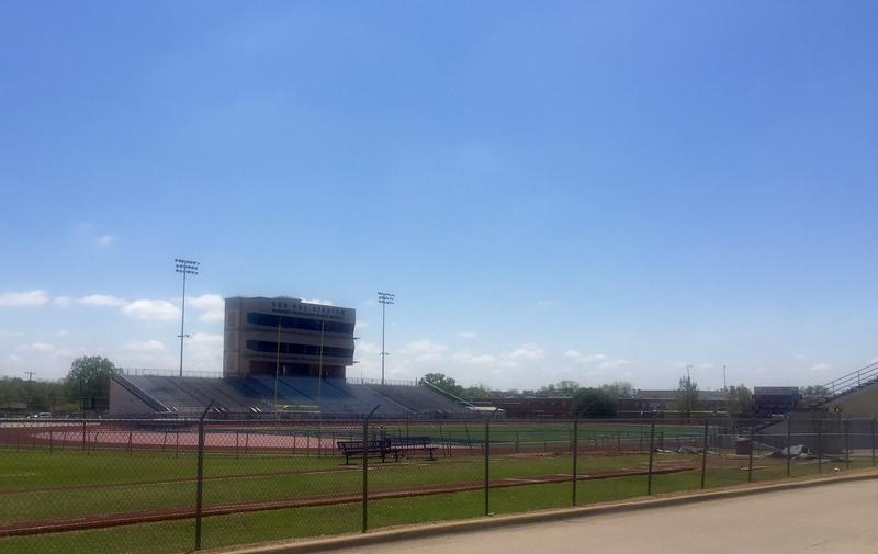 Ron Poe Stadium in McKinney was built in 1962 and seats nearly 7,000 people. The school district wants to build a new stadium and event center that seats 12,000 people and includes 2,400 parking spaces.