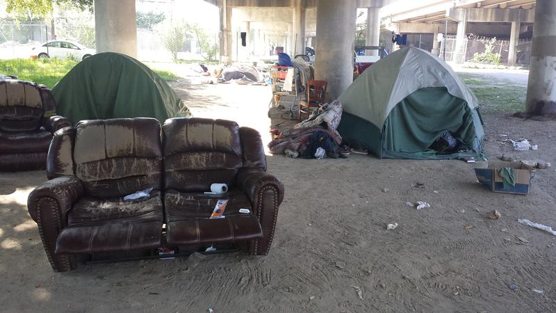 Dallas officials plan to clear out Tent City by early May.