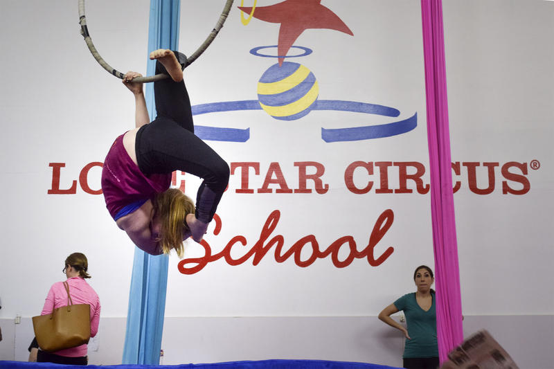 Lone Star Circus School is one of about 250 circus schools in the U.S.