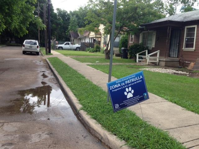 An animal services 'Patrol Zone' not far from where Antoinette Brown was attacked.