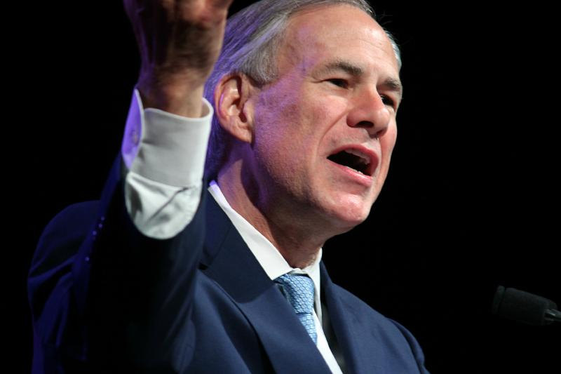 Gov. Greg Abbott called for a convention of the states to enact constitutional restraints on the federal government and boost states' rights.