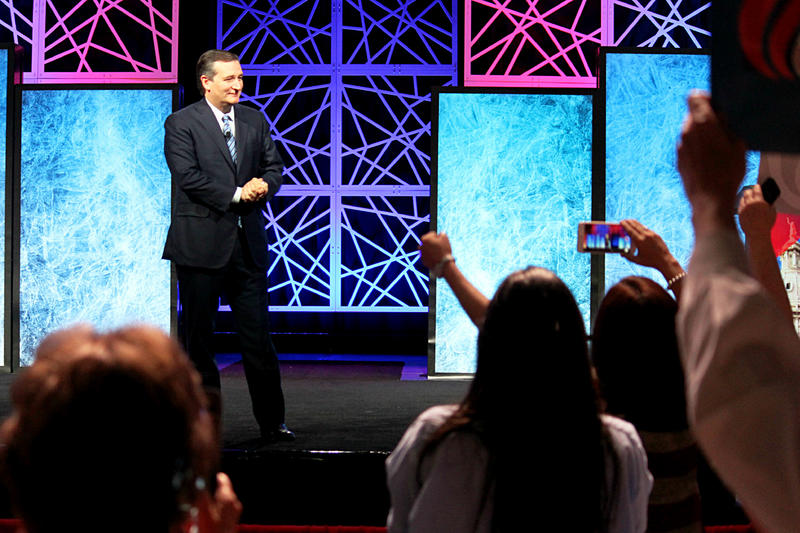 Sen. Ted Cruz received perhaps the most enthusiastic crowd response when he took the stage at the Texas GOP convention in Dallas on Saturday.
